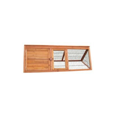 Wooden A-Frame Hutch
