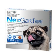 Nexgard 4-10kg 6 Pack