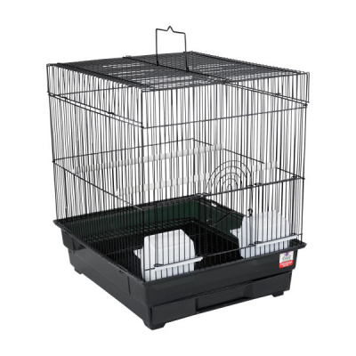 Budgie Square Cage